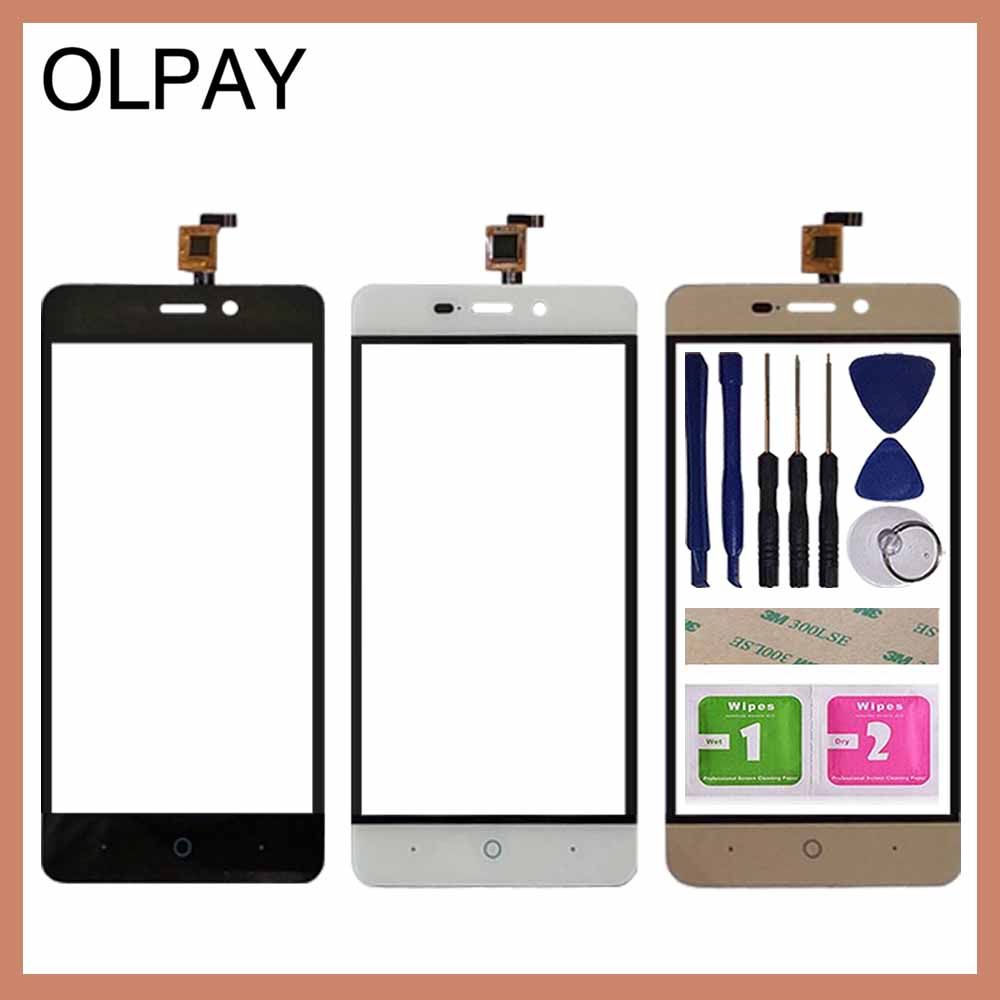 OLPAY 5.0'' Mobile Phone Touch Screen Digitizer For ZTE Blade T620 A452 X3 D2 Touch Glass Sensor Tools Free Adhesive And Wipes