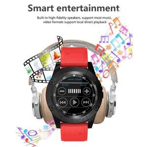 Image 3 - Relógio inteligente homem esporte adulto à prova dwaterproof água relógio inteligente android suporte cartão sim tf crad pedômetro câmera bluetooth smartwatch