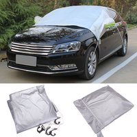 238x169cm Car Windscreen Cover Heat Sun Shade Anti Snow Frost Ice Shield Dust Protector Universal