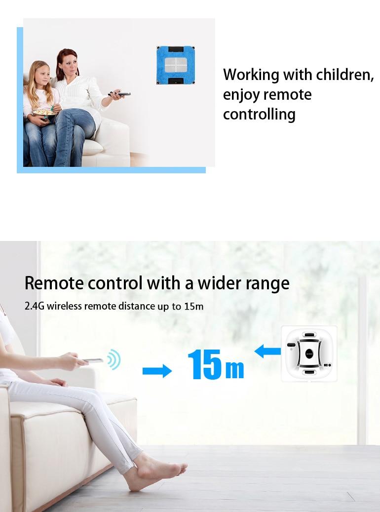 HTB1EJtgkBjTBKNjSZFNq6ysFXXa9 Liectroux X6 Robot Window Vacuum Cleaner Laser & Pressure Sensor Antifall Auto Glass Mop Home Floor Windows Wall Cleaning Robot