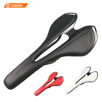 Toseek Carbon Saddle Super Light Weight 110g TOUPE Leather Saddle
