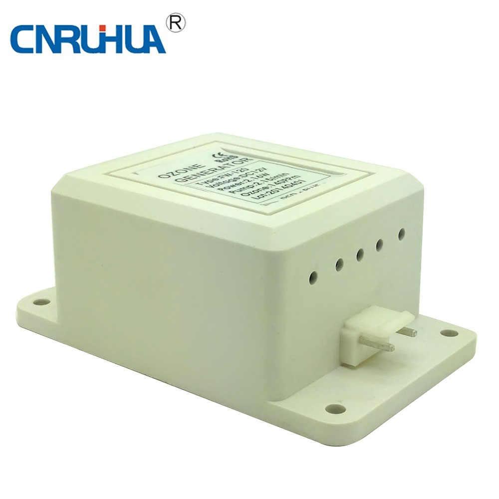 Мини 12vdc 400 мг/hr генератор озона части с мини-воздушный насос