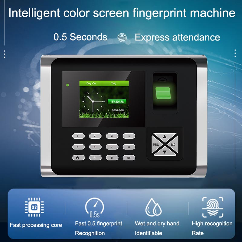 Eseye Biometric Time Attendance System TCPIP Fingerprint RFID Access Control System Reader Time Clock Employee Office Machine   Eseye Biometric Time Attendance System TCPIP Fingerprint RFID Access Control System Reader Time Clock Employee Office Machine
