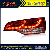 Car Styling tail lights for Audi Q7 LED Tail Lamp rear trunk lamp cover drl+signal+brake+reverse