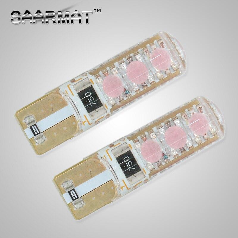 2pcs T10 W5W  Plasma LED Side Parking Light  Marker Lamps Bulb For  RENAULT 21 19 9 Vel Trafic Scenic Modus Megane Laguna