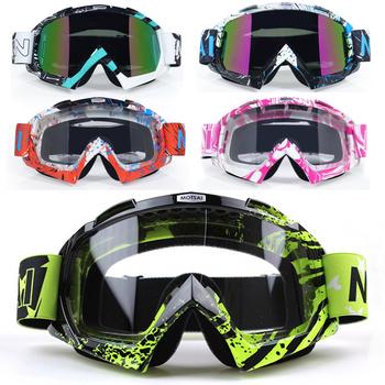 Motocross gogle okulary óculos Antiparras Gafas moto cross gogle motocyklowe poza droga brud okulary rowerowe tanie i dobre opinie VIRTUE Kobiety Mężczyźni Unisex MULTI Jasne Jeden rozmiar