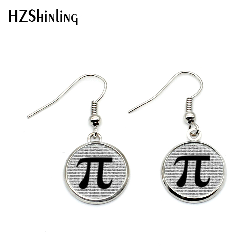 Nhe 003 Pi Earrings Math Jewelry Gifts Teachers Science Mathematics