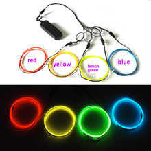 Light-Up-Toys Led-Strip Electroluminescent-Wire Clothes-Decoration Cold-Light El-Wire