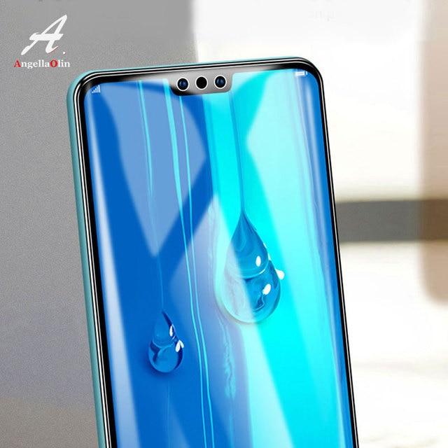 Para Huawei P30 Pro Nova 4 p smart 2019 Y7 Pro para honor 20 V20 la cubierta de vidrio templado película frontal protectora de pantalla