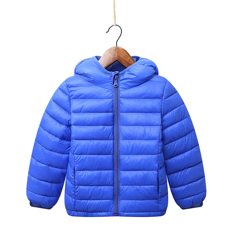 2-13Y children jacket Outerwear Boy and Girl autumn Warm Hooded Coat parka kids winter jacket