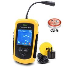 FFC1108-1 100 M Portable Sonar LCD Buscador de Buscadores de Los Pescados señuelo de la Pesca de Pesca Ecosonda