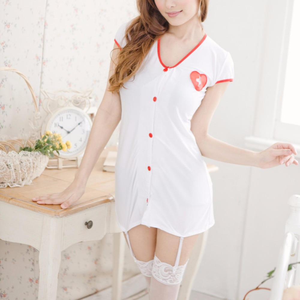 BONJEAN Hot fantasy porn sexy costumes temptation nuisette women one size sexy lingerie nurse erotic lingerie sex dress cosplay