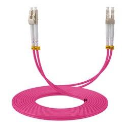 LC to LC 40GB Laser Optimized Multimode Fiber Patch Cable  OM4 LC/UPC to LC/UPC optical fiber patch cord  1M 2M 3M 5M 10M
