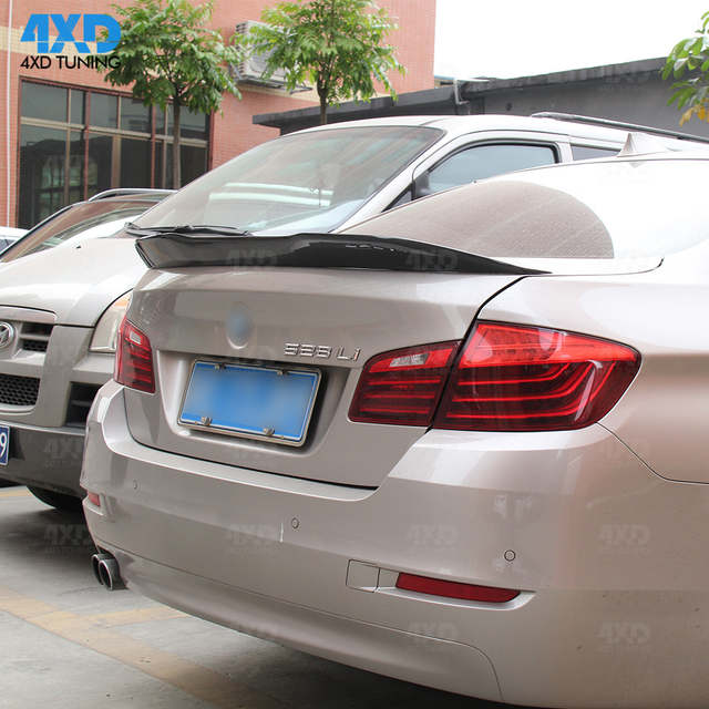 Us 104 99 25 Off For Bmw F10 Carbon Spoiler Psm Style Sedan 2010 2014 2015 2016 2017 2018 2019 F10 M5 Carbon Fiber Rear Spoiler Rear Trunk Wing In