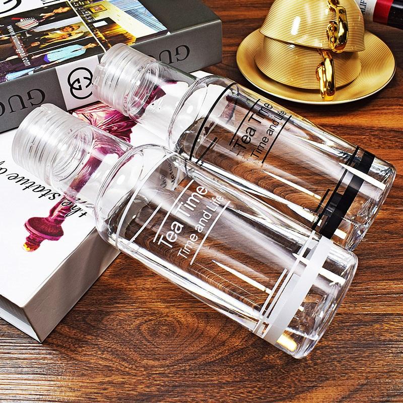 Горячие Стекло бутылки с водой Drinkware Чай Infuser бутылка воды Портативный прозрачный Бутылки для воды с нержавеющей Фильтр и рукава