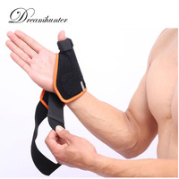 1 Pcs Fixed Thumb Wrist Protector Bodybuilding Breathable Hand Wraps Wrist Strap Weight Lifting Fitness Bandage