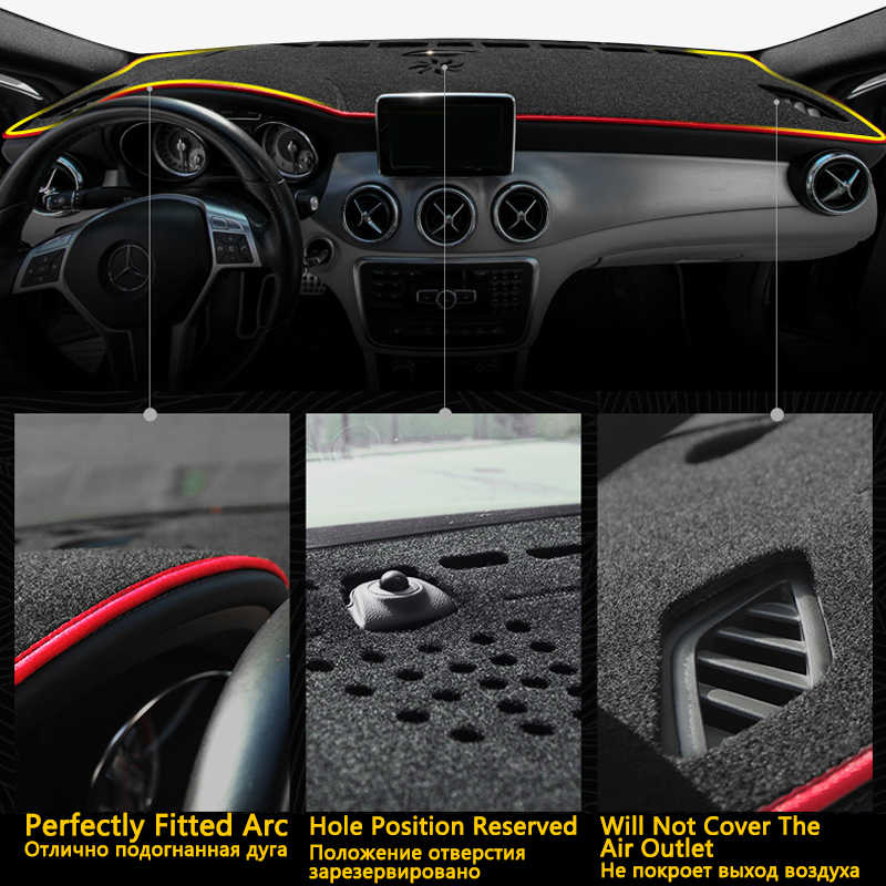 Untuk BMW X6 E71 2008 ~ 2014 Anti-Slip Mat Dashboard Cover Pad Kerai Dashmat Melindungi Karpet Aksesoris 2009 2010 2011 2012 2013
