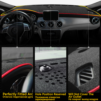 Voor Citroen C5 Aircross 2017 2018 2019 2020 Anti-Slip Mat Dashboard Cover Pad Zonnescherm Dashmat Auto Accessoires Tapijt c5-Aircross