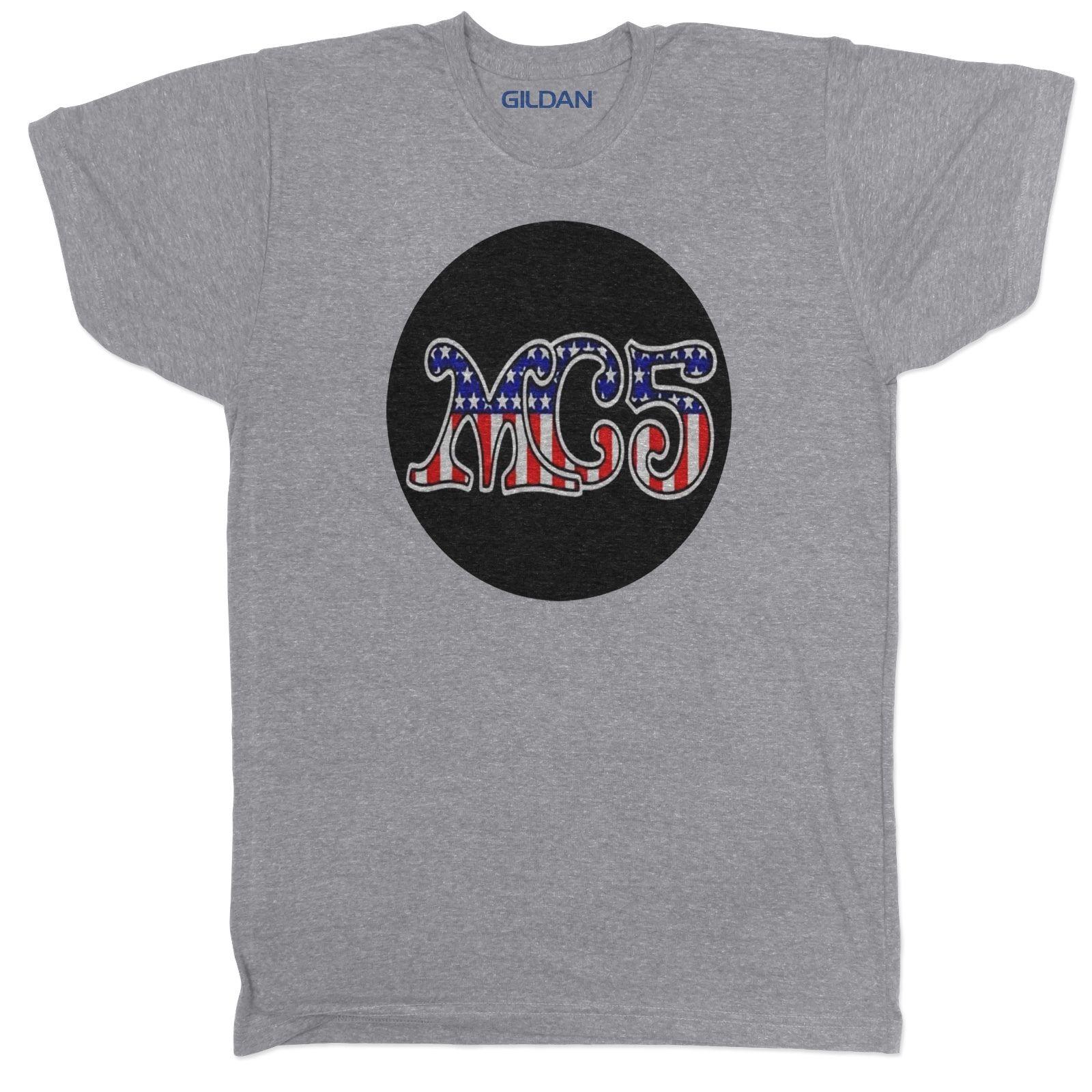 Yang MC5 Terinspirasi Tali Konser Musik Rock In Pria Gang Tumblr Grey Kaus O Leher Kaus Pria Harga Murah steampunk di T shirt dari Pria Pakaian