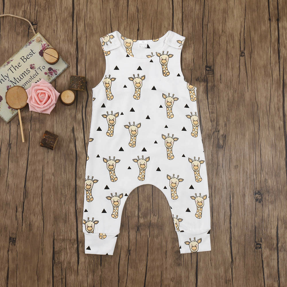 Cute new born baby clothes Infant Baby Boys Girls Cartoon Print mermaid romper baby boy jumpsuit Outfits cactus print
