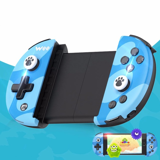 FlyDiGi Wee Adjustable Wireless Bluetooth 4.0 Game Controller For iOS For Android Buttons Anti-slip Remote Control Joystick