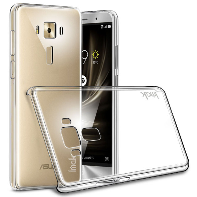 Чехол ASUS ZenFone 3 ZE552KL BROSCO Transparent AS-ZF35.5-TPU-TRANSPARENT