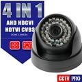 2MP câmera 1.0MP AHD Câmera Dome IR CUT NightVision HD-CVI TVI CVBS 4 EM 1 Híbrido HD 720 P 1080 P Vigilância CCTV Câmera Com Menu OSD