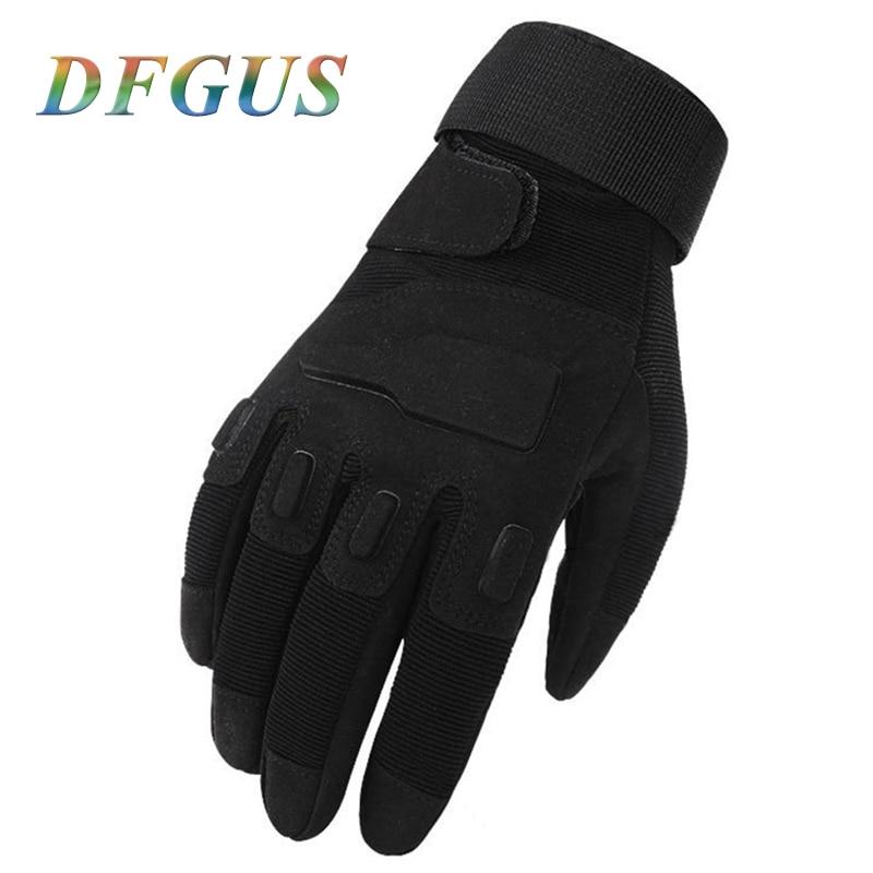 2018 New Arrival Military Tactical Gloves Men's Outdoor Sports Assault Gloves Full Finger Men Tactical Mittens Gloves
