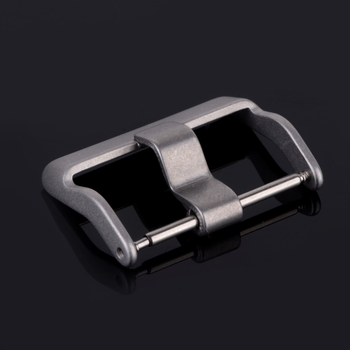 10pcs 18mm/20mm/22mm Stainless Steel Square Clasp Strap For Watch Bands Buckles decoration DIY Accessory watchband Clasp