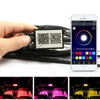 Car APP Control Interior Neon Lamp For BMW E46 E39 E90 E60 E36 F30 F10 E34 X5 E53 E30 F20 E92 E87 M3 M4 M5 X5 X6 Accessories