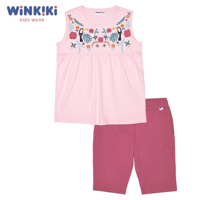 Пижама для девочки (футболка, шорты) WINKIKI