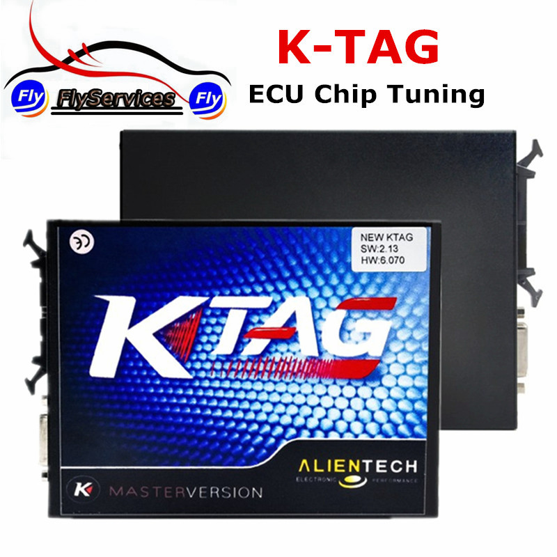 Цена за Супер Функция Недавно К TAG V2.13 HW 6.070 ЭКЮ Программист KTAG Мастер Версия Без Лексем Ограничено К-TAG ECU Чип-Тюнинг инструмент