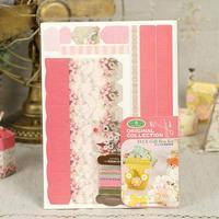 Material del libro de recuerdos Origami accesorios hechos a mano creativa álbum DIY decorativo de regalo Pack cartón paquete de Material PB