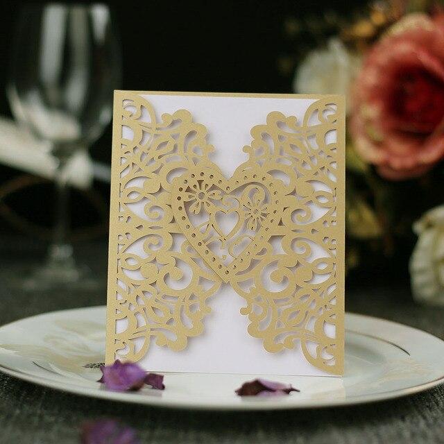 Carte dinvitation de mariage 40 pièces   Carte postale vintage détiquette pour mariage avec jeu de cartes imprimées en papier intérieur