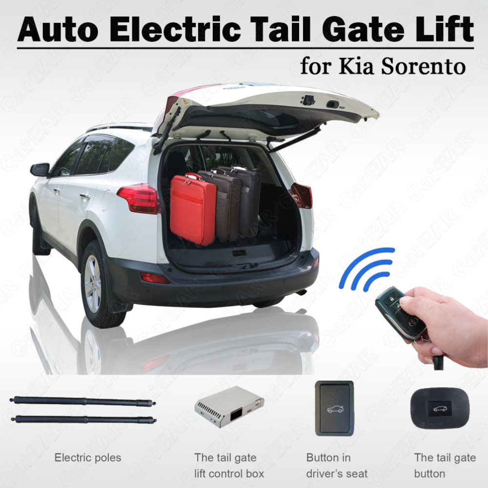 Best Smart Auto Electric Tail Gate Lift For Kia Sorento 2015 Remote Control Drive Seat Button Control Set Height Avoid Pinch