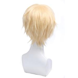 Image 5 - L e mail peruca de banana peixe cosplay peruca eiji okumura e aslan jade callenreese resistente ao calor peruca de cabelo sintético perucas cosplay
