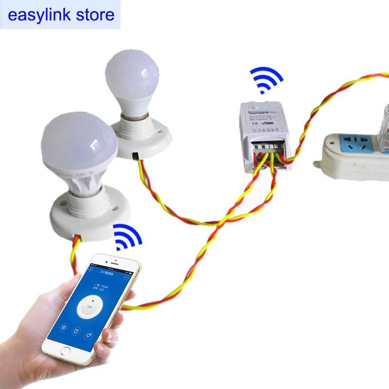 Sonoff Dual 2kanálové WiFi bezdrátové přepínače, 10A / 220V - Inteligentní elektronika