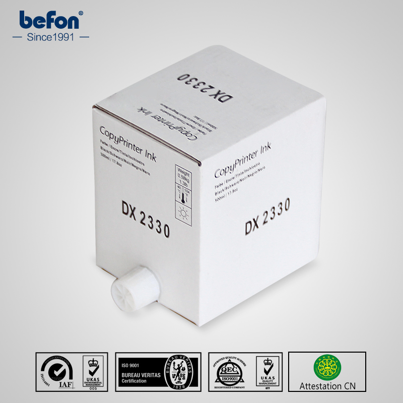 befon Duplicator Ink DX2330 DX 2330 for use in Ricoh dx2330