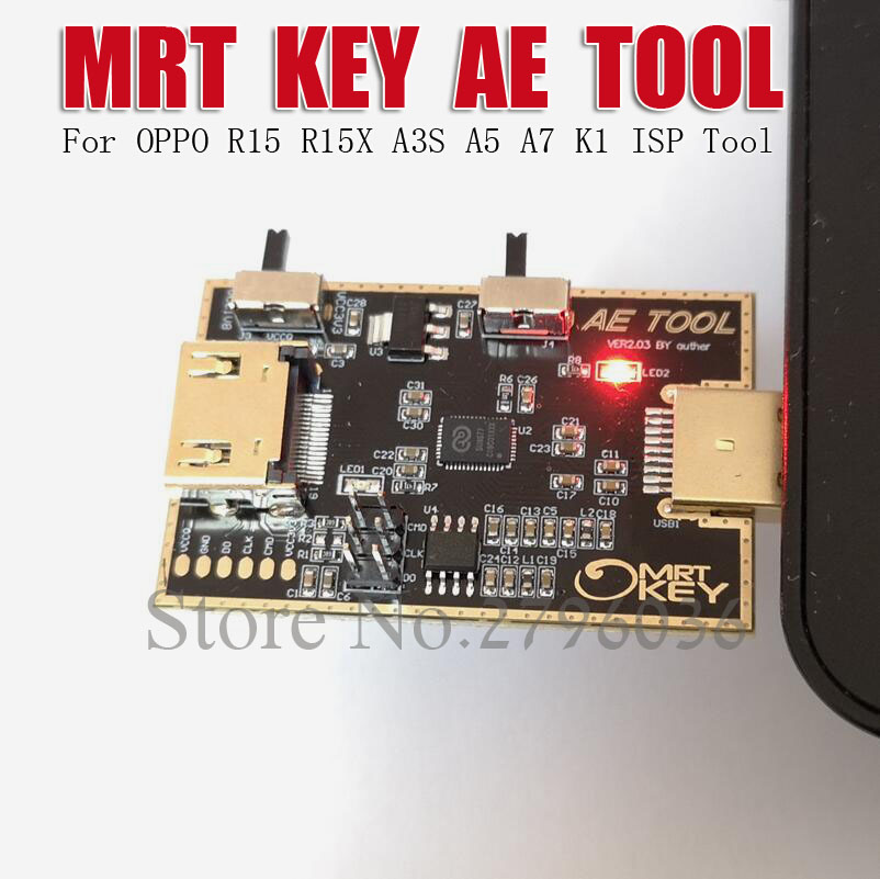 MRT Dongle AE outil AETOOL EMMC programmeur pour OPPO R15 R15X A5 A7 K1 fai outil - 5