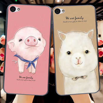 Cute Animal Soft Silicone Case For Lenovo S90 3D Emboss Funny Rabbit TPU Back Cover For Lenovo S90 S90T image