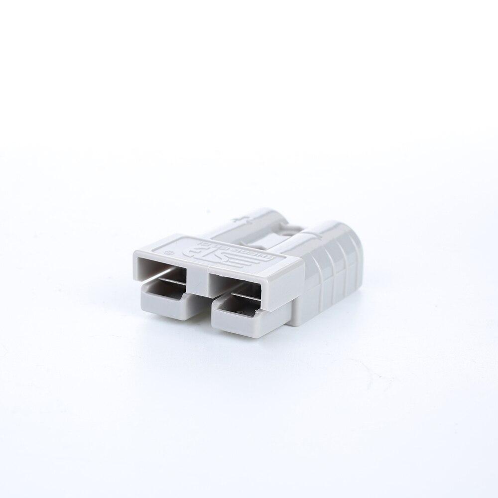 Vehemo для Plug 50A 600 в штепсельный соединитель мощность разъем Железнодорожный электрические системы высокий ток Plug мощность Сменные - Цвет: gray