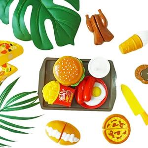 10 PCS Schneiden Obst Gemüse Pretend Spielen Kinder Kid Pädagogisches Spielzeug Geschenk