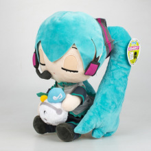 kawaii Hatsune Miku Plush Toy doll Anime Soft Stuffed Dolls Pillow children birthday gifts for girls 10styles