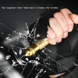 Image 3 - High quality defensive tactical pen self defense pen multi function aviation aluminum alloy non slip portable camping ball pen
