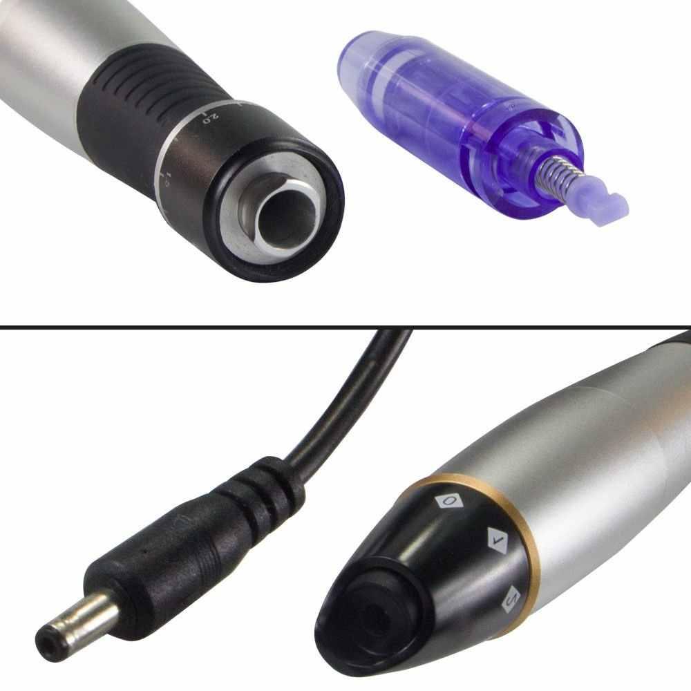 Электрический дермапен микро уход за кожей Dr. Pen Ultima A1 Permanente микроблейдинг тату иглы макияж машина бровей подводка для глаз