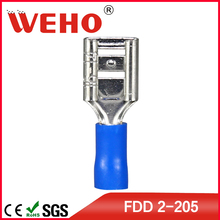 FDD2-205 1000pcs/pack free shipping FDD small annealing machine wire crimping terminal(China)