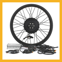 Motor Wheel Engine Kit For Fat Bike Snowmobile 48V 750W BLCD Hub Motors Conversion Kit For 26 28inch 700C Rear Wheel