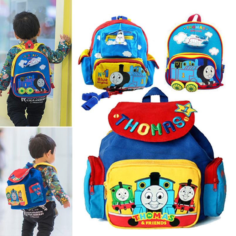 Aliexpress Thomas And Friends Train Kindergarten School Bags Anime Toddler Backpack Anti Lost Bookbag Kids Baby Arm Bag For S Boys From