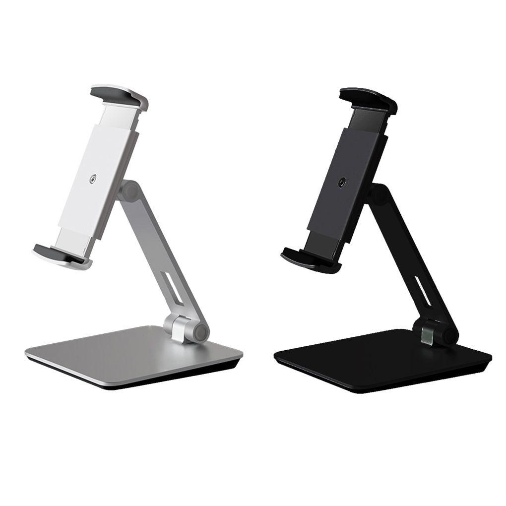 Support universel pour Smartphone et tablette support de montage de bureau en alliage d'aluminium 360 Degreen support de remplacement pour iPad iPhone