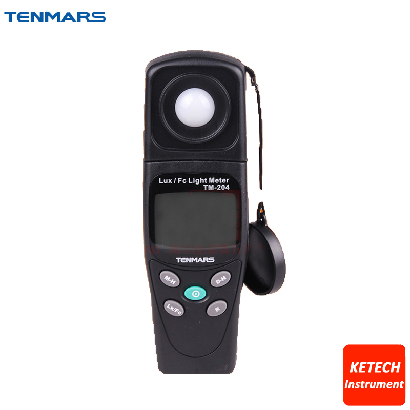TM204 Digital Light Meter LUX and FC Light Meter brand new professional digital lux meter digital light meter lx1010b 100000 lux original retail package free shipping